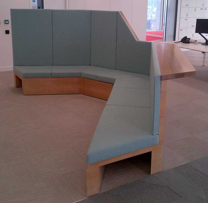 commercial bespoke furniture workshop projects