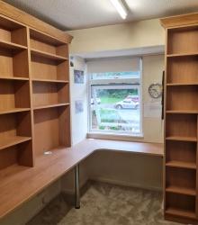Bespoke shelves
