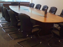 Bespoke Boardroom Table Example 6
