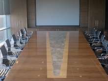 Custom-made Boardroom Table Example 9